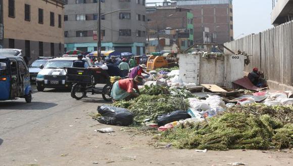 Alrededor de La Parada se dejan 50 toneladas de basura al día