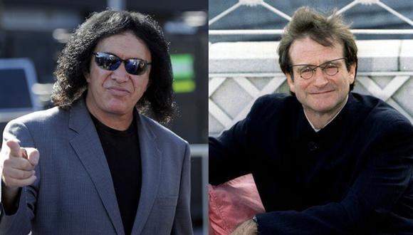 Gene Simmons se disculpó con Robin Williams