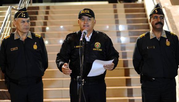 Urresti pide a policías que no trabajen solo 'casos mediáticos'