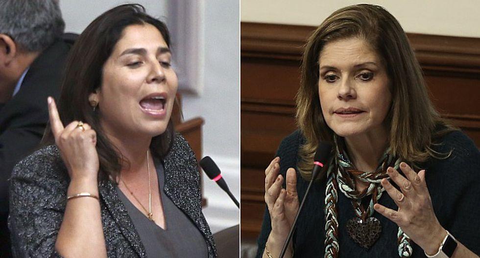 Úrsula Letona y Mercedes Aráoz, enfrentadas por el 'baguazo'
