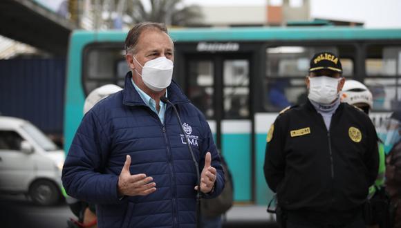 El alcalde de Lima cuestionó que Forsyth deje su cargo para presentarse como candidato a la presidencia de la República.  (Foto: GEC)