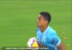 Sporting Cristal vs. Barcelona: Christopher Olivares y el 2-1 convertido desde el punto penal