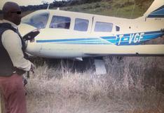 Loreto: incautan 420 kilos de cocaína en avioneta que tenía como destino Brasil
