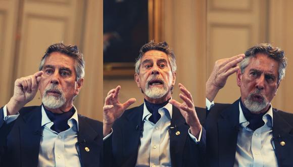 Sagasti llegó a Palacio tras la breve gestión de Manuel Merino, quien renunció cuando se desmoronó su Gabinete Ministerial y perdió el respaldo del Congreso. (Foto: Alessandro Currarino)