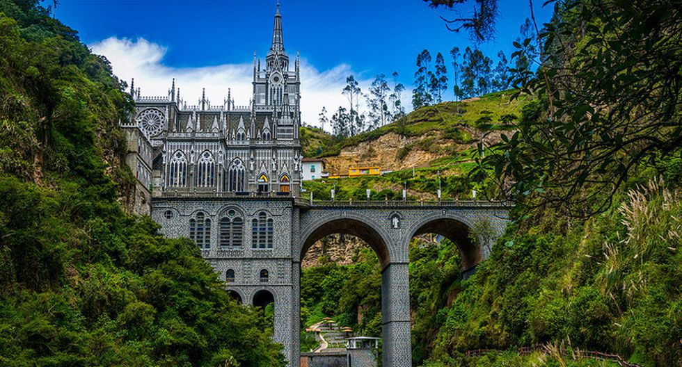 El Santuario de Nuestra Señora de Las Lajas, Colombia. (Foto: BORIS G / Flickr)