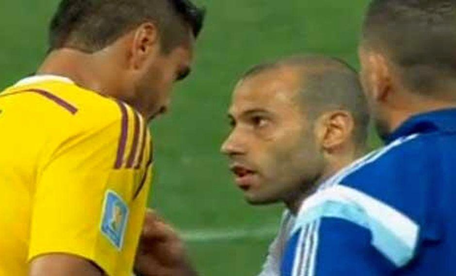 """Mascherano a Romero antes de los penales: """"Tú serás el héroe"""""""