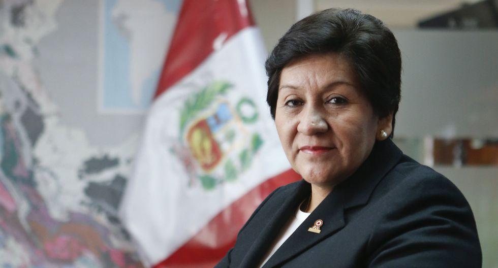 Vilca asumió como viceministra de Minas desde el inicio del gobierno de Ollanta Humala, en agosto del 2011. Tres meses después se reveló que era propietaria de 17 concesiones mineras que no declaró ante la Contraloría. (Foto: GEC)