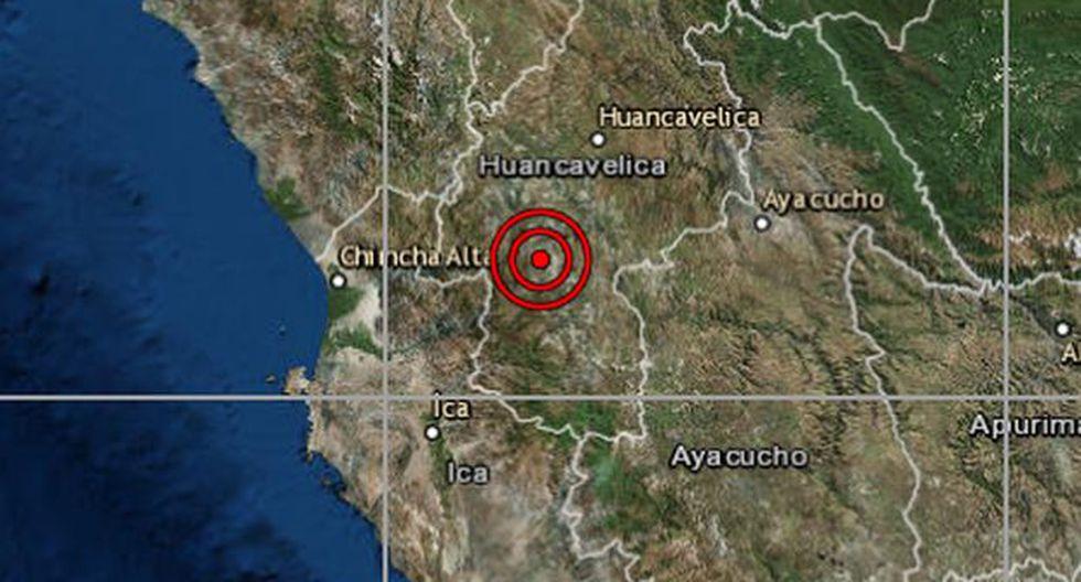 Es el primer temblor que se produce luego del fuerte sismo de 7,5. (Foto: IGP)