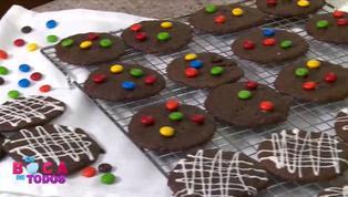 Tres minutos de dulzura: deliciosas galletas chocochip