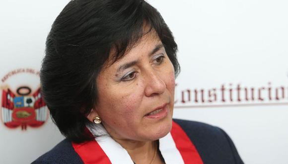 """Marianella Ledesma indicó, respecto a los casos de feminicidio, que """"no podemos estar ausentes de uno mismo y no podemos negar una realidad"""". (Foto: Andina)"""