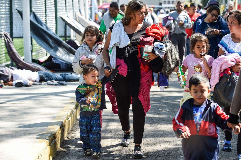 """El presidente de Estados Unidos se ha referido a la llegada de la caravana de migrantes como """"una invasión""""."""