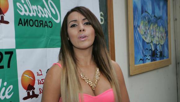 Dorita Orbegoso, en carta notarial, dice no tener video íntimo