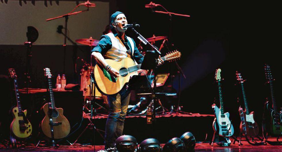Álvaro Urquijo, vocalista de la banda Los Secretos