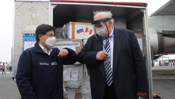 El embajador de Rusia en el Perú, Igor V. Romanchenko, dijo esperar que nuestro país se beneficie de la vacuna rusa contra el COVID-19 cuando esté lista. (Foto: INS)