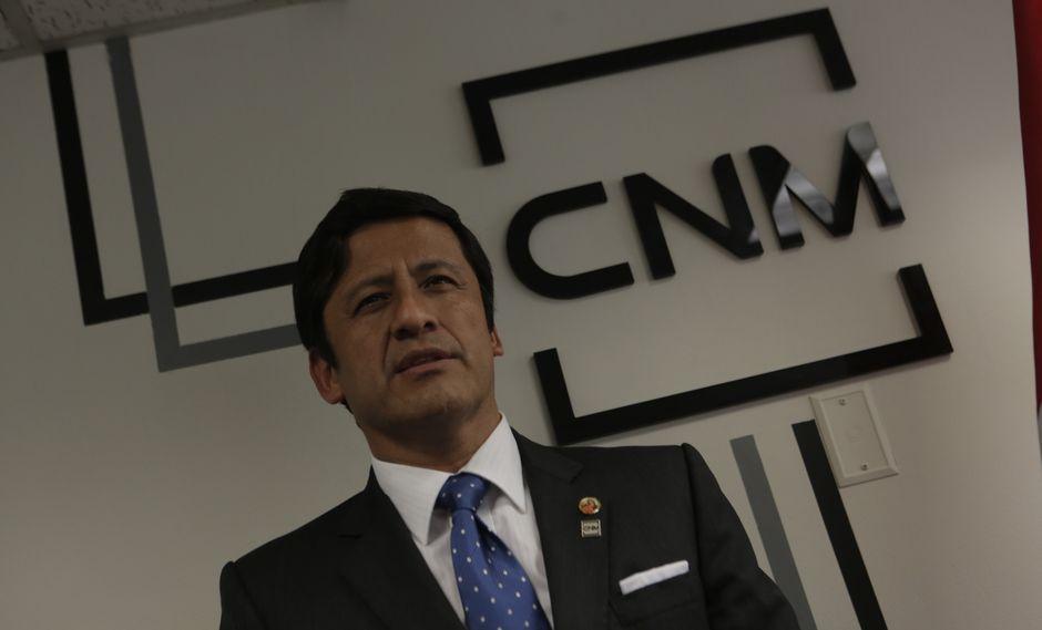 Fiscalía de la Nación presentó denuncia constitucional contra ex presidente del CNM, Guido Aguila.