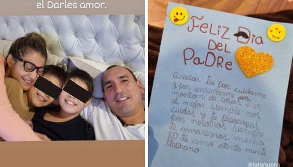 Rafael Fernández se mostró muy emocionado tras leer la carta del hijo de Karla Tarazona. (Foto: Instagram @rafaelmfernadezs)
