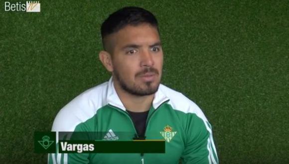 Juan Vargas habló del Betis, de sus ídolos y sobre la 'U'