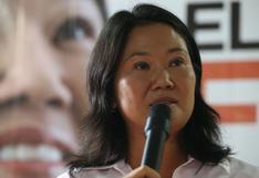 """Keiko Fujimori sobre composición de FP en Congreso disuelto: """"Estoy asumiendo el costo político"""""""