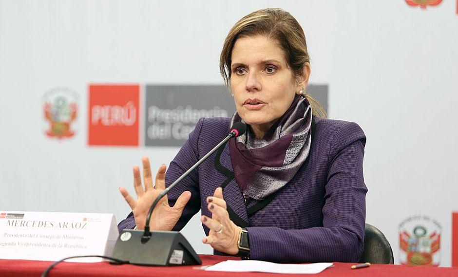 La presidenta del Consejo de Ministros, Mercedes Aráoz, aseguró que el Gobierno está haciendo elaborando los informes técnicos necesarios para la misa del papa Francisco. (PCM)