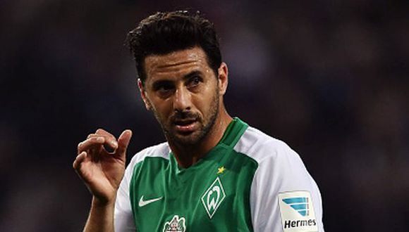 Claudio Pizarro alcanzó esta nefasta racha con Werder Bremen