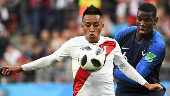 Christian Cueva se presentó este lunes 9 de julio al Sao Paulo luego de dos meses. El volante de la selección peruana volvió a Brasil para aclarar su futuro, debido a que ve difícil su continuidad en el 'Tricolor' (Foto: AFP)