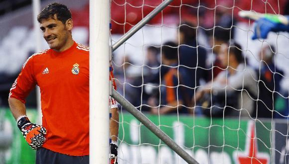 """Casillas: """"Después de todo, es un orgullo estar en la final"""""""