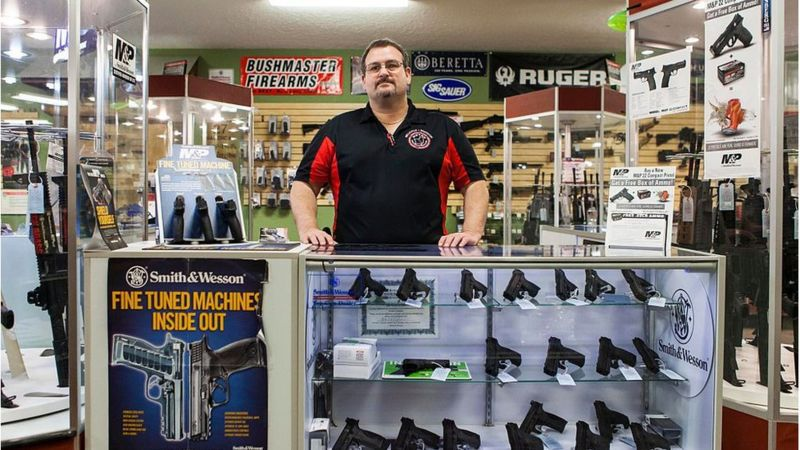 To buy traditional weapons in the US you need to meet certain requirements. (Photo: Getty Images, via BBC Mundo).