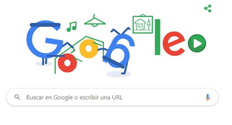 Este doodle será visto en todo Sudamérica, Centro América, Norteamérica, partes de Europa, Asia, Oceanía y África. (Google)