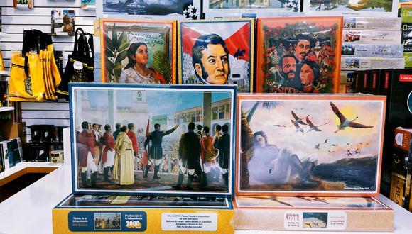 Smart Play es una colección especialmente diseñada con motivo del Bicentenario e ilustraciones de autor. (Foto:  Víctor Sanjinéz García)