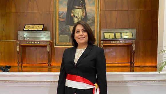 Delia Muñoz, nueva ministra de Justicia (Foto: Presidencia)
