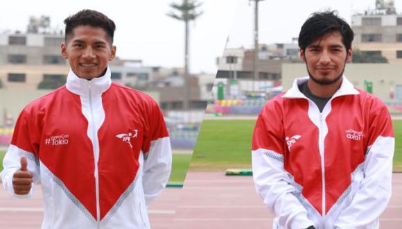 César Rodríguez y Luis Henry Campos competirán en 20 km. marcha en Tokio 2020. (Foto: IPD)