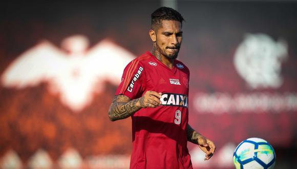 La directiva de Palmeiras descartó totalmente algún tipo de acercamiento con Paolo Guerrero, que todavía no alcanzó un acuerdo concreto de renovación con su actual club. (Foto: Web Flamengo)