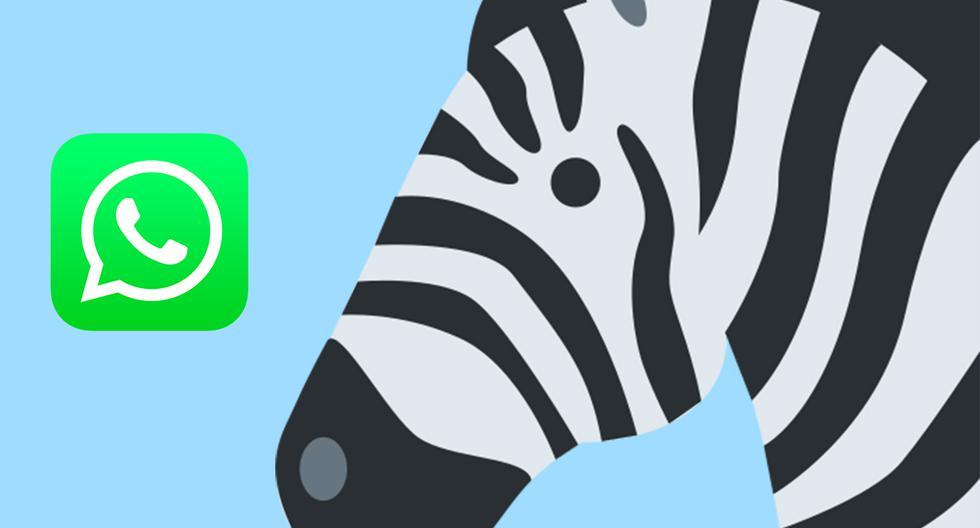¿Por qué miles de usuarios en el mundo están compartiendo el emoji de la cebra en sus estados de WhatsApp? (Foto: Emojipedia)