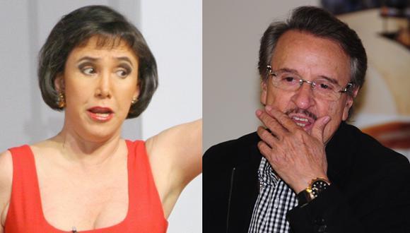 Florinda Meza responde a Carlos Villagrán. (Fotos: archivo El Comercio  / USI)