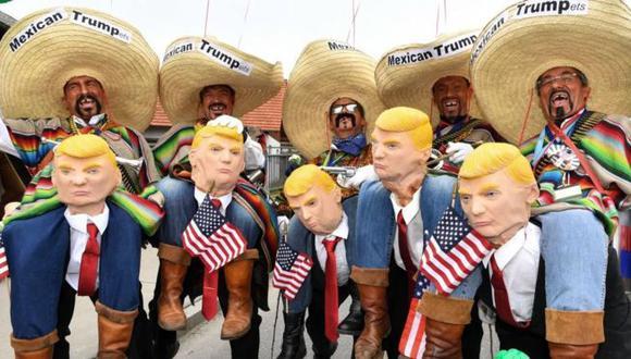 Muchos mexicanos comparten las duras posturas migratorias de Donald Trump. Foto: AFP, via BBC Mundo