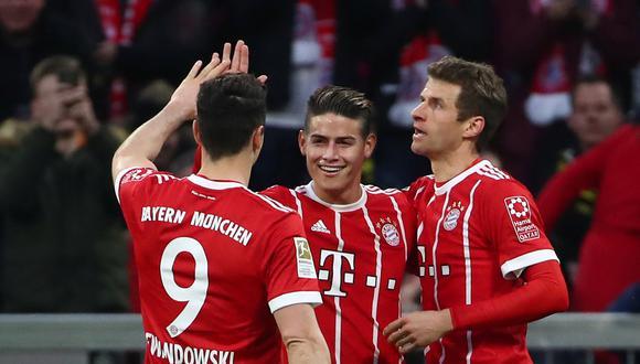 Bayern Múnich se medirá ante Borussia Dortmund esta mañana (11:30 a.m. EN VIVO ONLINE por ESPN), por la jornada 28 del torneo. (Foto: AP)