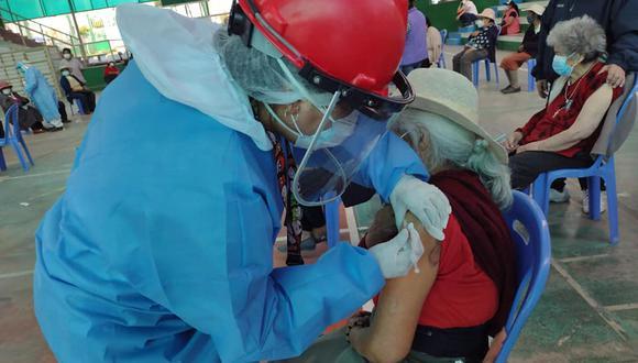 Desde la Geresa se han realizado promociones en los establecimientos de salud y campañas de socialización sobre los beneficios de la vacuna. (Foto: Geresa Arequipa)