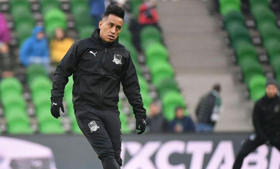 Christian Cueva: Krasnodar rechazó propuesta de Independiente por el volante peruano. (Foto: AFP)