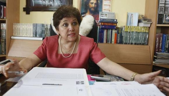 La procuradora antidrogas Sonia Medina resaltó la importancia de que se investigue el caso Joaquín Ramírez hasta el final. (Andina)