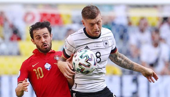 Alemania y Portugal protagonizaron un partido del nivel de una Copa del Mundo en sus últimas instancias | Foto: REUTERS