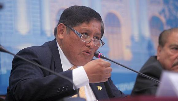 El excongresista Juan Pari forma parte del equipo de trabajo del candidato presidencial por Perú Libre, Pedro Castillo. (Foto: Archivo El Comercio)