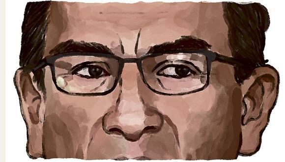 """""""A pesar de que Martín Vizcarra no sea la víctima en la que se quiere convertir, no podemos permitir que los apetitos políticos de un grupo de parlamentarios coloquen al país en una situación imposible"""". Escribe Patricia del Río. (Ilustración: Víctor Aguilar Rúa)."""