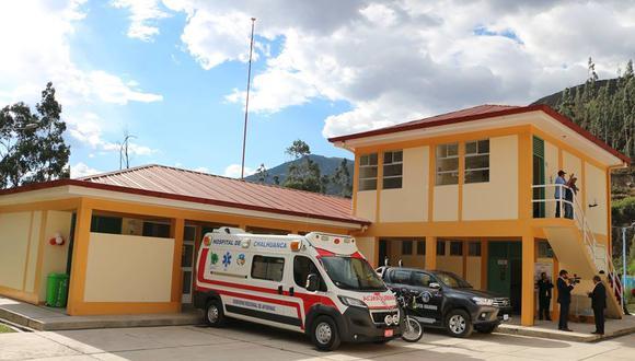 En el Hospital de Chalhuanca también se realizó la prueba de despistaje de Covid–19 a todos los integrantes de la familia de la mujer.
