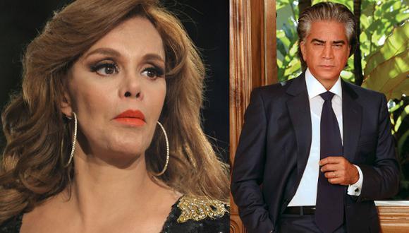 """Rodríguez 'El Puma' y Lucía Méndez iban a protagonizar en 1985 la telenovela """"Tú o nadie"""", una producción de Televisa, sin embargo un mal entendido hizo que el cantante venezolano abandone el proyecto en medio de todo un escándalo (Foto: Instagram)"""