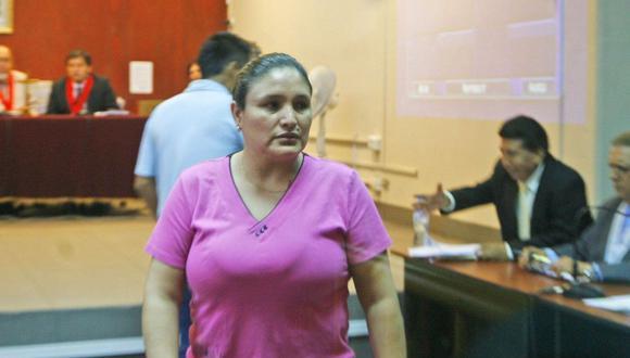 La audiencia del caso Abencia Meza será mañana. (Foto: GEC)