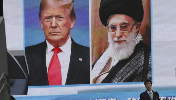 El presidente de Estados Unidos, Donald Trump, y el ayatolá Alí Jamenei. (Foto: AP)