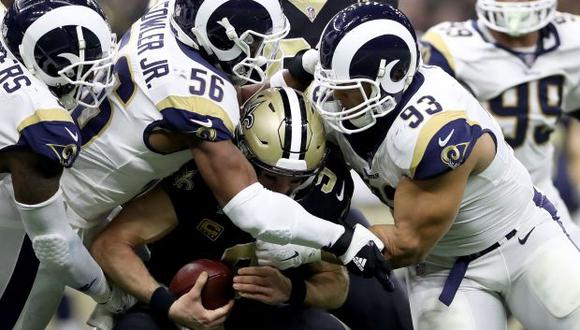 La final de la NFL la disputan Patriots vs Rams. (Foto: AFP)