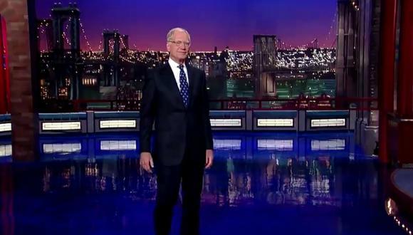 """David Letterman: así comenzó la última edición de """"Late Show"""""""
