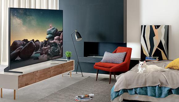 Los nuevos televisores Samsung QLED ofrecen una mejor calidad de imagen y sonido.