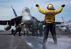 EE.UU. despliega portaaviones Nimitz en el Golfo Pérsico para compensar el retiro de tropas de Afganistán